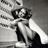 KIM BASINGER -- HQ -- Helmut Newton Shoot