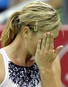 Maria Sharapova at Kremlin Cup - 2007