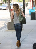 Hilary & Haylie Duff - Out shopping in Pasadena, September 10, 2010
