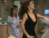 Finola Hughes brief cleavage clip from General Hospital