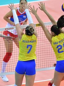 Rosamaria Montibeller - brazilian volleyball player (HQ x 25)
