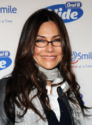 Vanessa Marcil - Launches The Glide Into The Holidays Program in NY 11-11-2010
