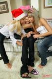 LezCuties.com 2008 12 24 Abby Aliza Alisa Christmas Plays